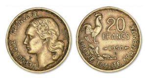 pièces de 20 Fr